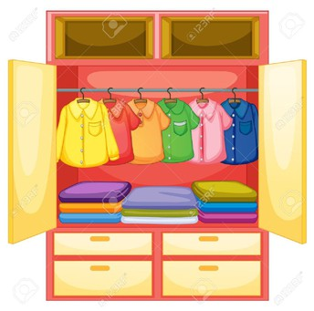 Office Clothes Closet
