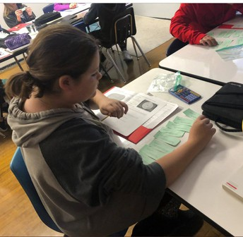 Area or Circumference Card Sort