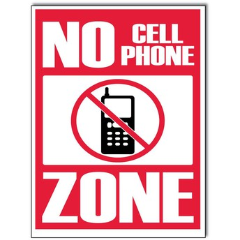 NMS IS A NO PHONE ZONE