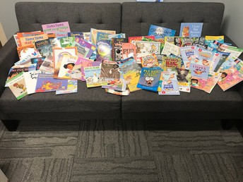 Thank you PTC for the great books for our Reading Incentive Program!