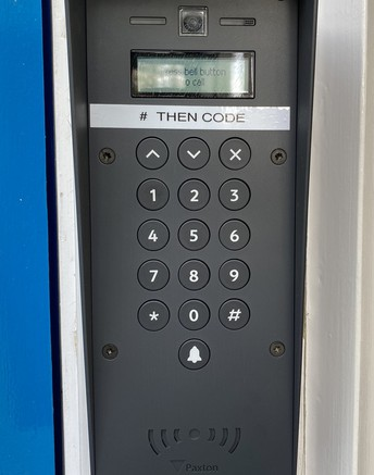 New locking system.