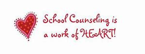 Picture of School Counseling is a work of heart with a heart