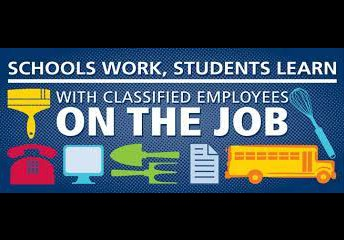 Help us appreciate our classified staff on your in person days.