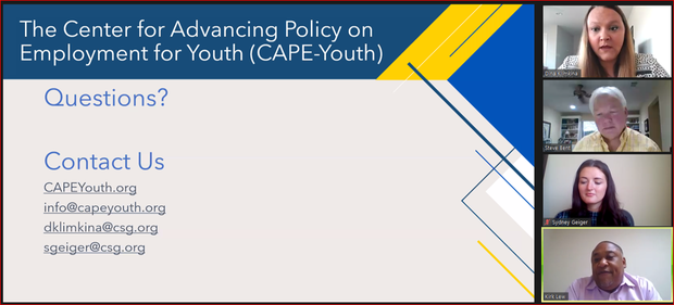 graphic for CAPEyouth.org