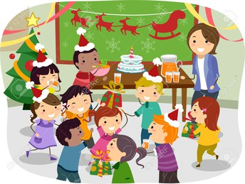 Class Christmas Parties Friday,  December 20th