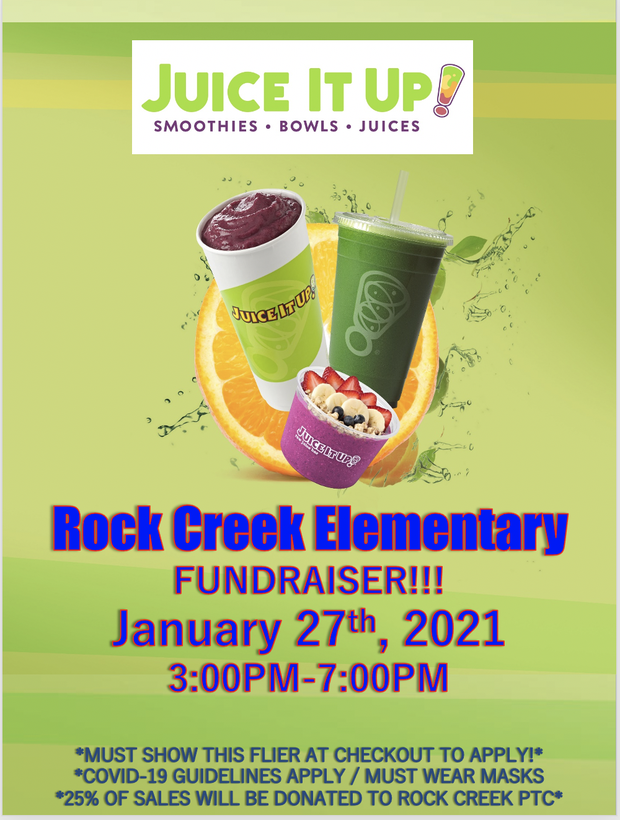 Fundraiser at Juice it up