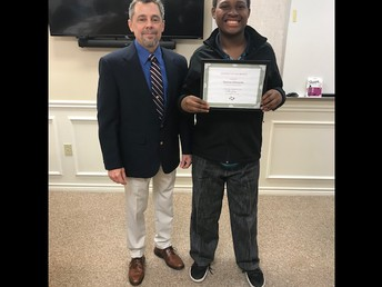 Darren Edwards - November Student of the Month