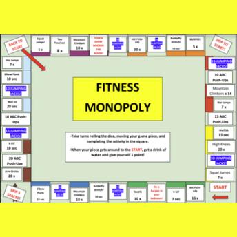 Fitness Monopoly screenshot