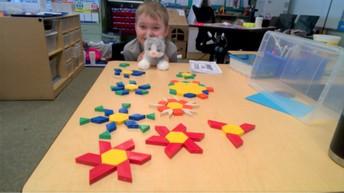 100 Pattern Blocks
