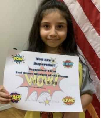 Jaylee Glidden 2nd Grade