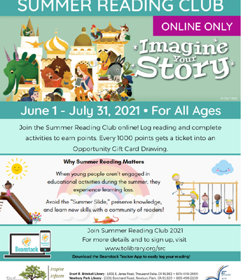 Summer Reading Club - TO Library