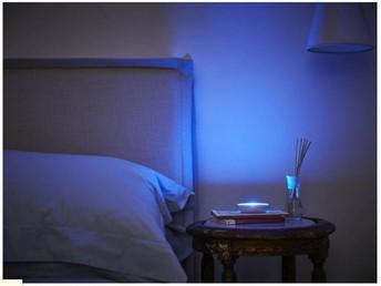 beautiful blue light of dodow