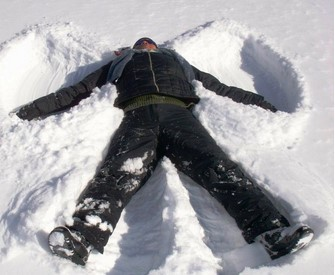 """""""When it snows, you have two choices: shovel or make snow angels."""" ~ unknown"""