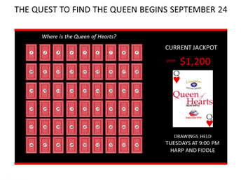 Lincoln/Emerson Queen of Hearts Raffle PTO Fundraiser