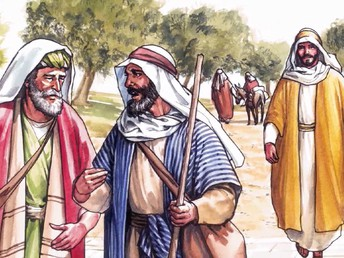 Jesus Appears on the Emmaus Road