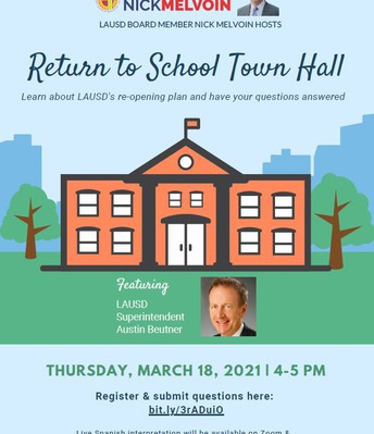 Board District 4 Town Hall