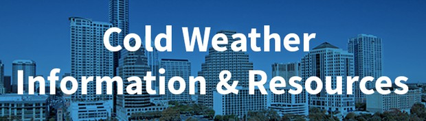Cold weather information and resources
