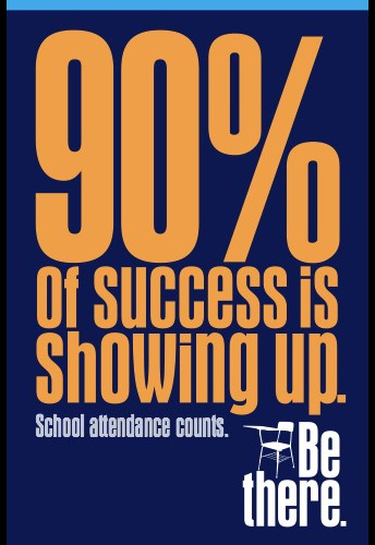 Good Attendance = Student Success in School