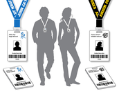 Students Wearing ID Cards