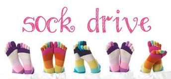 Sock Drive, March 16-25