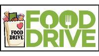 Food drive logo.