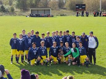 CCHS Boys Soccer-District Champs!