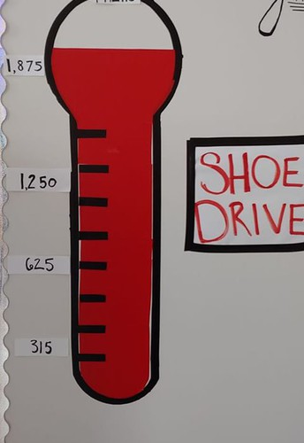 Choir Collects 2,525 Pairs Of Shoes To Be Donated To Haiti