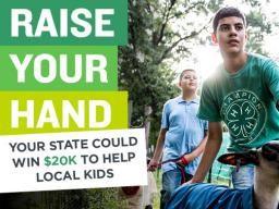 Raise Your Hand - Nebraska could win $20K to Held Local Kids