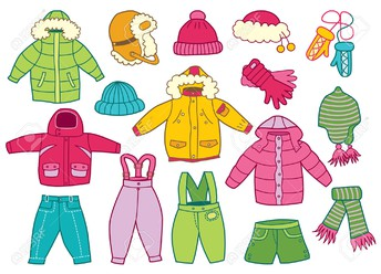 Please Make Sure Students Wear Weather Appropriate Clothing