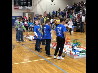 Robotics competition at Avilla