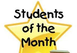 Fridley On-Line Academy Students of the Month