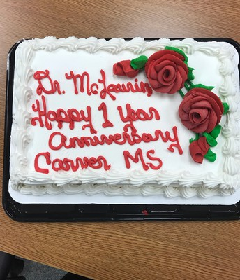 Thanks Carver MS PTA!