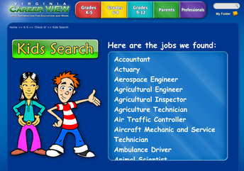 Kids Career Search