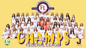 Girls Soccer Federal League Champs