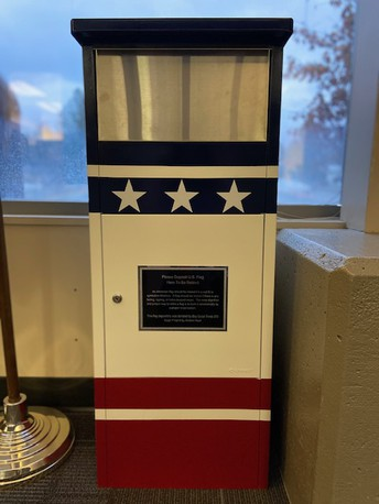 Need to Retire a Flag?  Use Our Flag Depository!