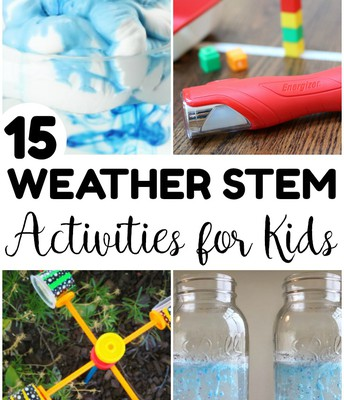 15 Weather STEM Activities for Kids