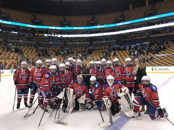 Red Rangers at the Garden- Division 1 State Finalist