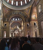 Learning about the Cathedral Basilica
