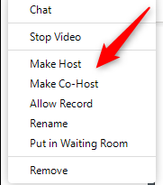 ZOOM: How to Add a Co-Host