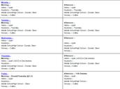 #BCTLT Schedule 1/9/17 - 1/13/17