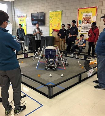 The Andover Robotics Club (ARC) will host a FIRST/FTC Qualifier