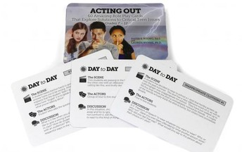 Acting Out Role Play cards for secondary students