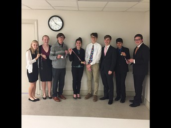 CX Speech & Debate--Advancing to State--Swept the competition 11 years in a row!!!