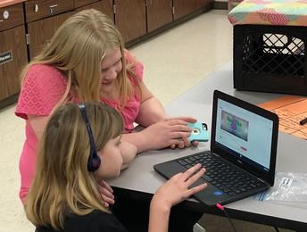 Cadence Helps Fourth Graders on Tuesdays