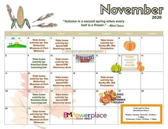 EmPower Place Activity Calendar