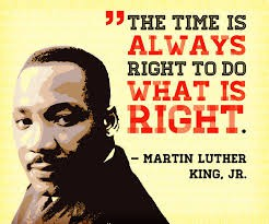 Monday is Martin Luther King, Jr. Day! There will be no school on 1-18-21 as we observe this holiday.