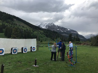 Archery Range at AWLS