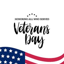 Veterans Day is November 11