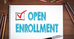Open Enrollment begins Friday 11/1!!