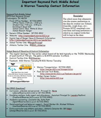 Warren Township Contact Information